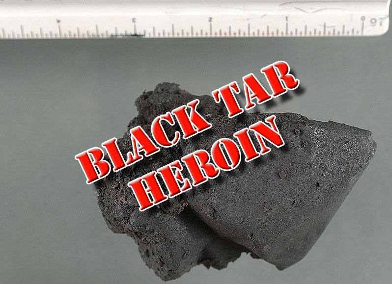 Black Tar Heroin. Image-DEA
