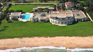 Palm Beach mansion bought by Trump for $1 million, that was then sold to Russian Dmitry Rybolovlev for $95 million  and torn down. Image-Youtube