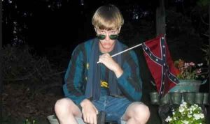 Image of Dylann Roof on his Facebook profile.