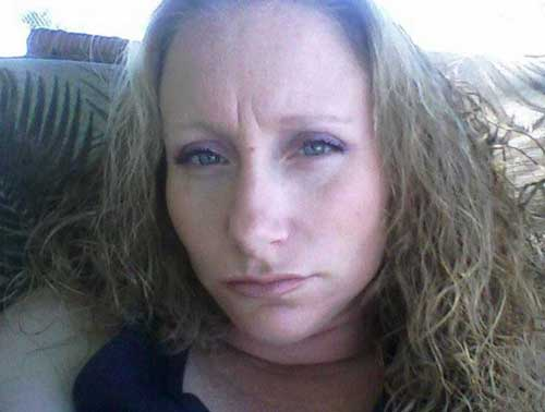 36-year-old Homicide suspect, Stephanie Hamburg. Image-APD