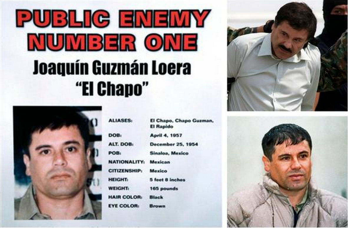 Joaquin Guzman, leader of the Sinoloa, has escaped once again from prison in Mexico.