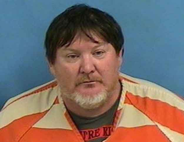 51-year-old Jeffery Jackson, wanted in Alaska on 76 counts of sexual abuse and sexual assault chares, was apprehended in Searcy, Arkansas on Monday. Image White County Sheriff's Office