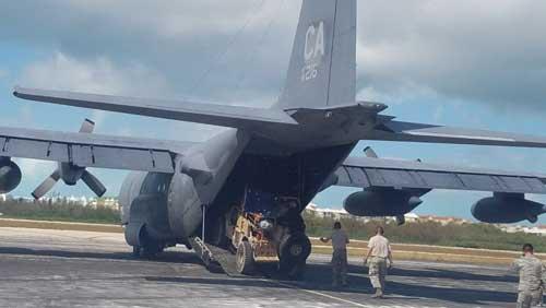 Alaska Guardsmen Assist with Hurricane Relief Efforts in Puerto Rico, U.S. Virgin Islands