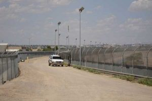 The U.S. border fence near EL PASO. Image-Office of Representative Phil Gingrey