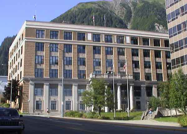 State Capitol Building in Juneau. Image-State of Alaska
