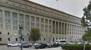 The U.S. Department of Interior Building in Washington DC