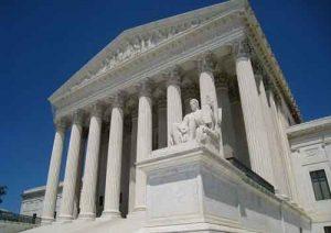 The Supreme Court building in Washington DC. Image-Public Domain