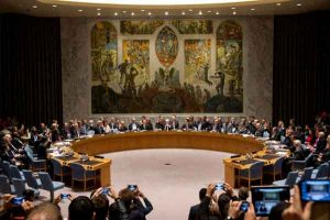 United Nations Security Council in session. Image-U.N.