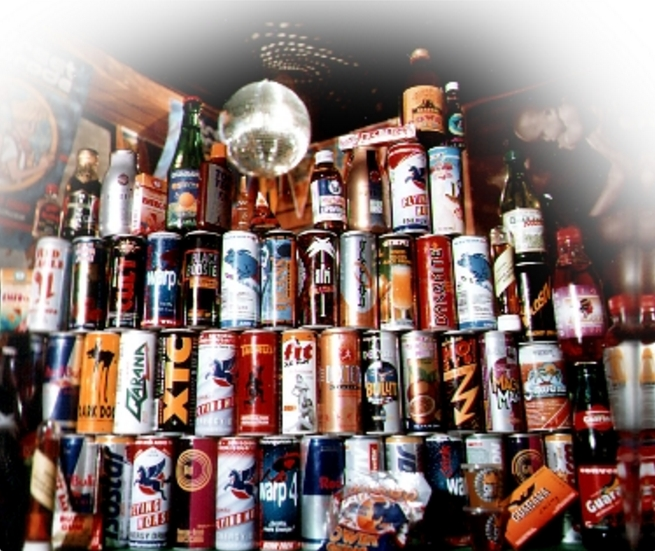 Energy Drink collection. Image-Public Domain