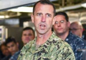 Navy Admiral John Richardson. Image-Petty Officer 2nd Class Joseph Montemarano/DoD