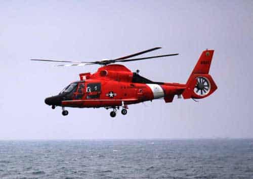 MH-65 Dolphin. USCG photo