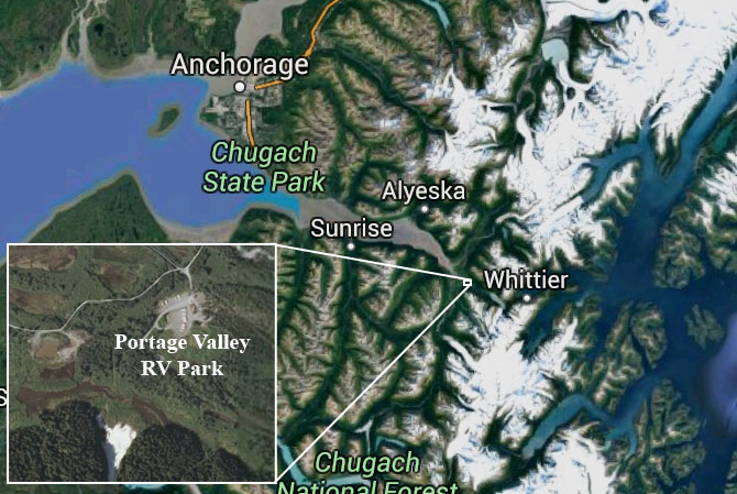 anchorage man rescued after becoming trapped in portage valley ice cave