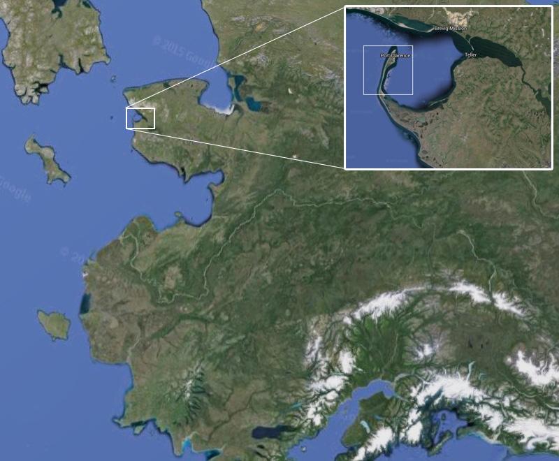 Location of Point Spenser