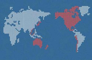 Decorative map of TPP countries. Image- Office of the United States Trade Representative