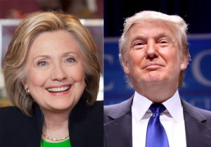 Hillary Clinton and Donald Trump-Images Hillary for Iowa/ Flickr|Gage Skidmore