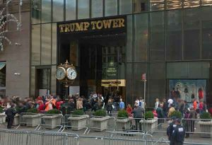 The Trump Tower in New York City. Image-Google Maps