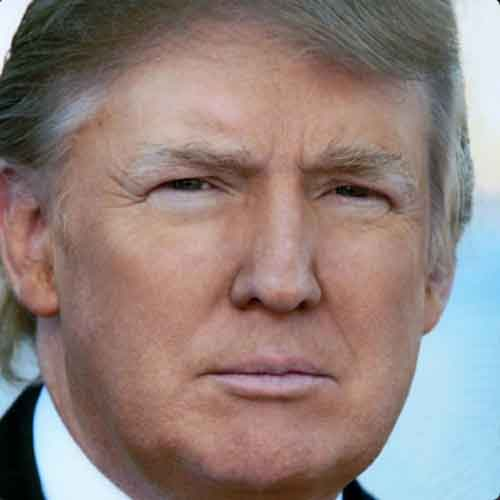 President-elect Donald Trump's Twitter profile image.