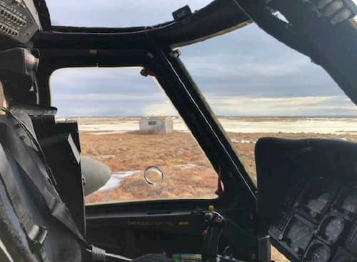 Alaska Army Guardsmen Provide Aerial Search for Missing Snowmachiner