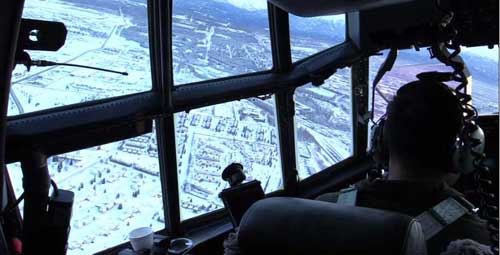 Alaska National Guard Immediate Aerial Survey Reduces Earthquake Havoc