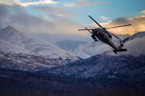 Injured Anchorage Man Rescued from Eddie's Peak Area by Alaska Rescue Coordination Center Monday