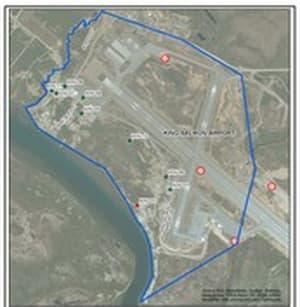 King Salmon airport. Image-State of Alaska