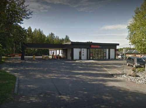 Wells Fargo Bank on DeBarr Road in Anchorage. Image-Google Maps