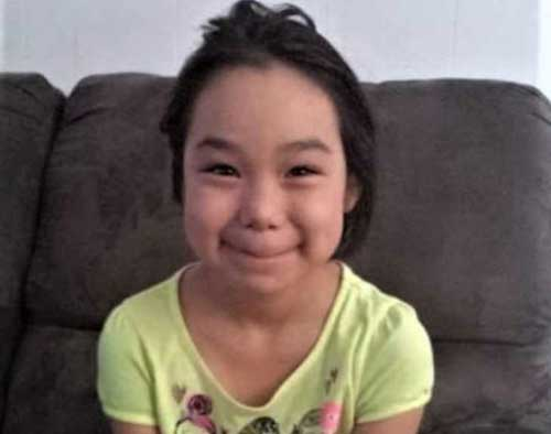 """Ten-year-old Ashley Barr Johnson, whose body was found September 14, 2018, in the rugged tundra outside Kotzebue, Alaska. Peter Wilson, 41, also from Kotzebue, has been charged in her kidnapping, sexual assault and murder. Courtesy: Walter """"Scotty"""" Barr"""