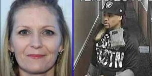 APD has released images of persons of interest in Black Angus homicide. Brittney Johnson (L) and an unidentified male (R)