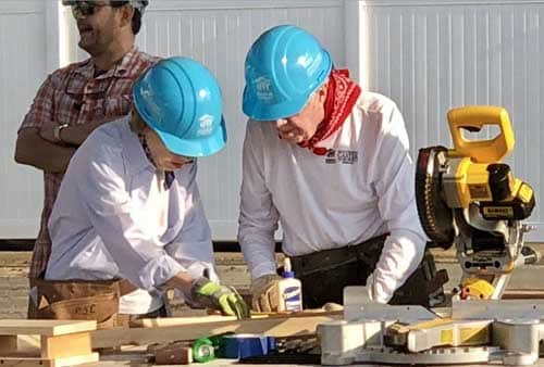 Jimmy and Rosalynn Carter Build Houses, Hope With Habitat for Humanity