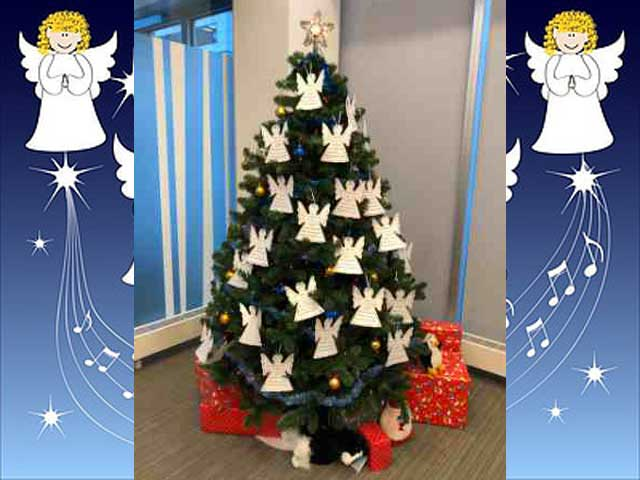 Be Someone's Angel this Holiday Season by Selecting a Name from the APD Tree