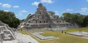 Edzná ruins, Campeche. Credit: Nick Evans