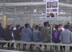 Juvenile immigrant detainees. TIME video screenshot