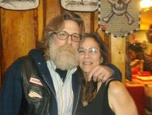 Jeffrey Esley and his wife Charlene died while riding their motorcycle on the  Parks Highway Monday. Image-FB  Profiles
