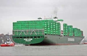 Container ship Ever Living. Image- Buonaera/ Creative Commons Attribution-Share Alike 3.0 Unported
