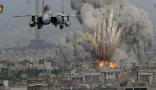 F-15 on Yemen bombing run. Image-Asia News