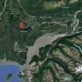 Location of Flat Lake outside of Wasilla. Image-Google Maps
