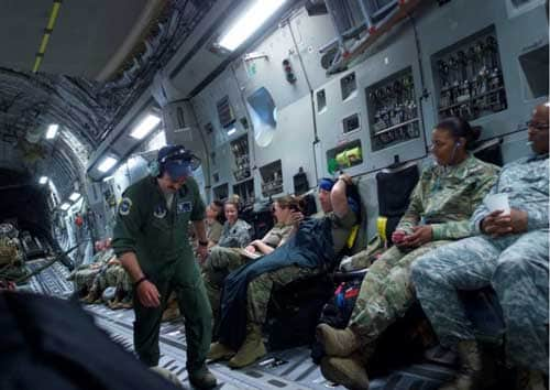 Arctic Terns bring Army Guardsmen home from Mongolia