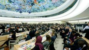 38th session of the United Nations Human Rights Council. Image-OHCHR