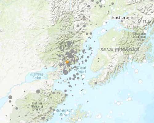 Western Cook Inlet Quake Shakes Up Kenai Peninsula