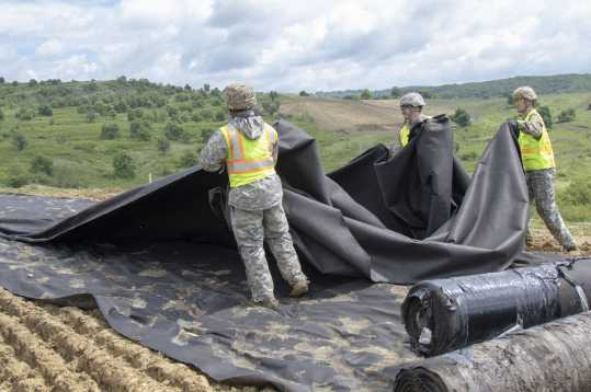 Alaska Army National Guard Engineers Train with Romanian Counterpart