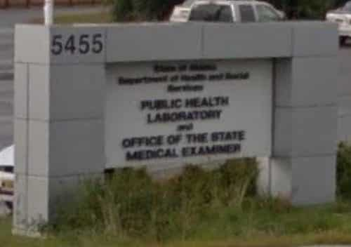 State Medical Examiner. Google Maps