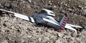The Atigun Pass crash site. Image-NTSB