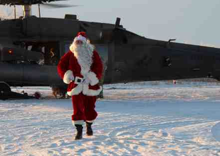 Alaska National Guard Delivers Christmas Gifts to Children in Villages