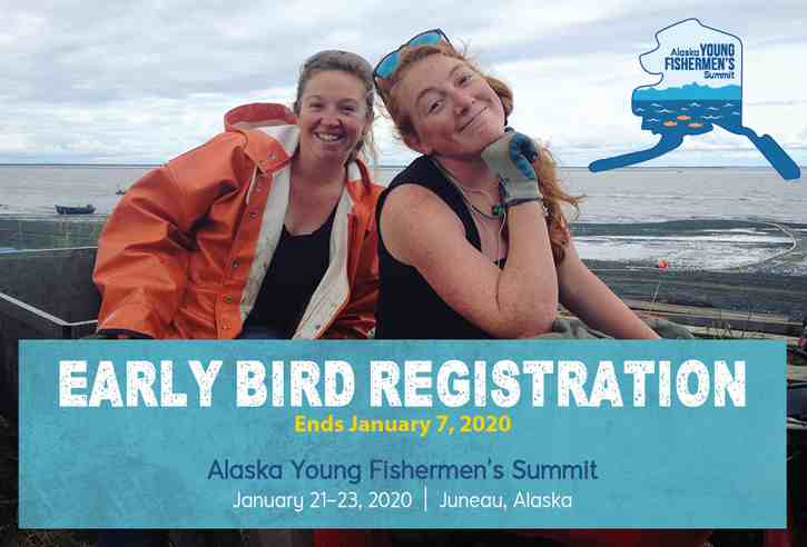 Register now—Alaska Young Fishermen's Summit early-bird registration ending soon