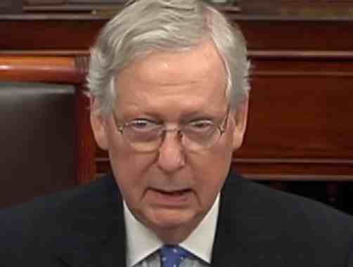 'A Fact-Free Sham Trial Perpetrated in the Dead of Night': McConnell's Trump Cover-Up in Senate Begins