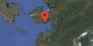 Location of White Mountain on the Seward Peninsula. Image-Google Maps