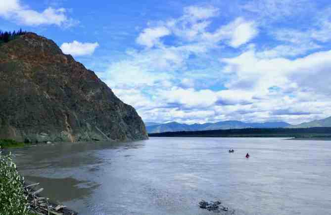 The Recent Fall of the Upper Yukon River