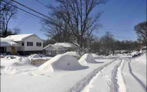 To what extent is severe winter weather in the U.S. related to Arctic warmth? Credit: Wikimedia Commons