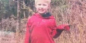The remains of five-year-old Jaxson Brown were recovered from the Lunch Creek Trail on Friday.