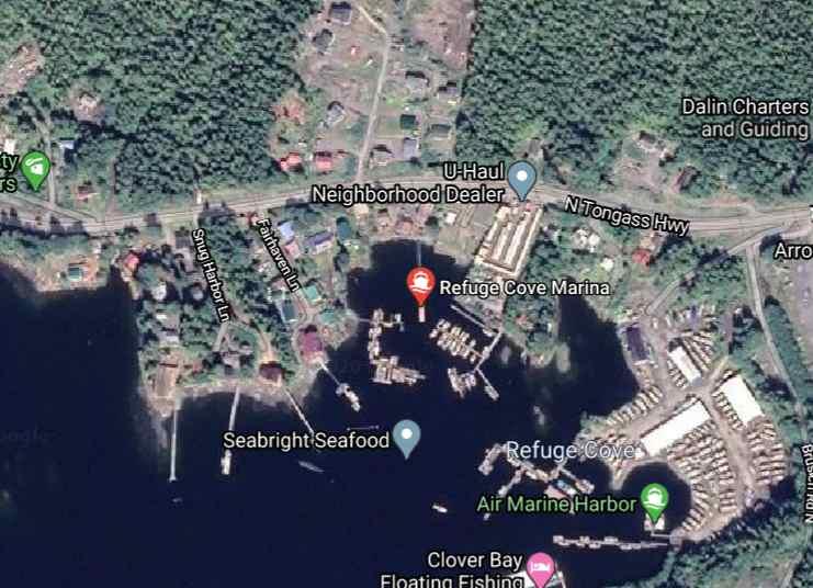 Troopers Arrest Ketchikan Man who was Crashing Bayliner into Refuge Cove Dock